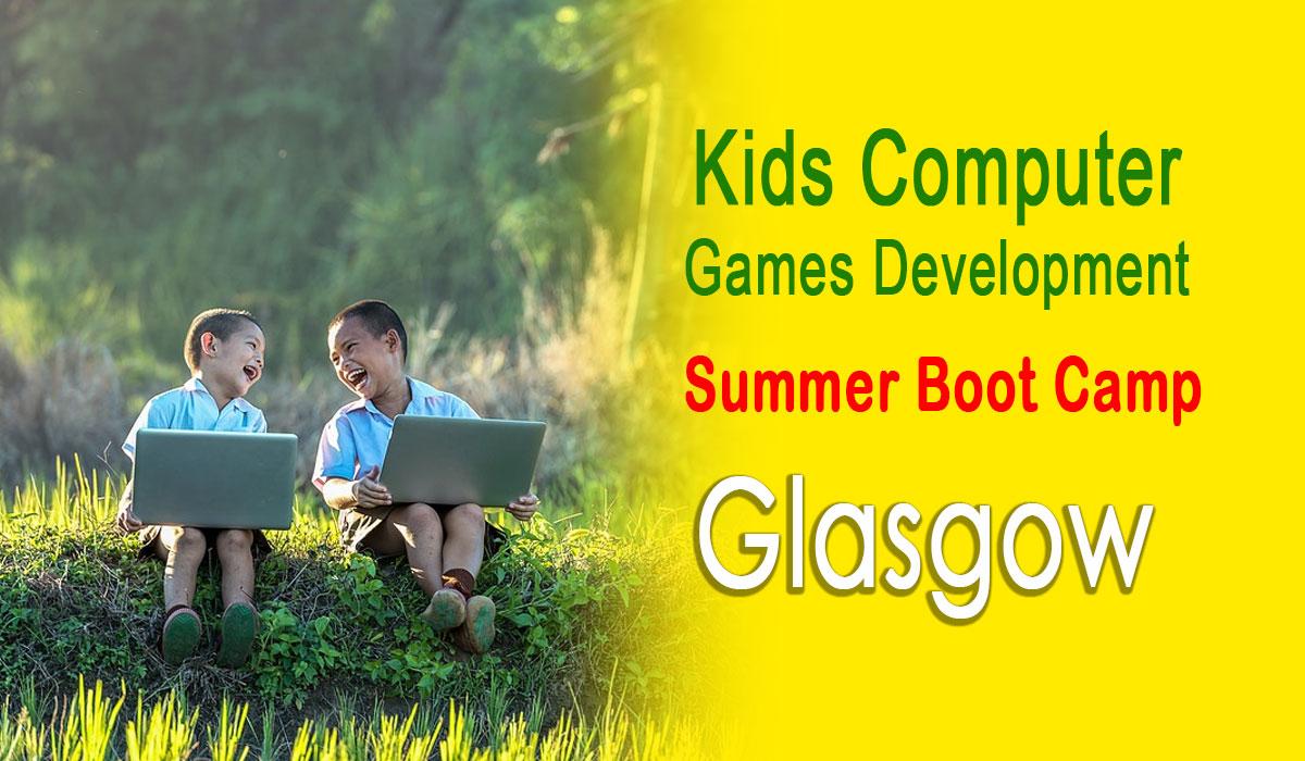 Kids Summer Holidays Computing Camp Glasgow
