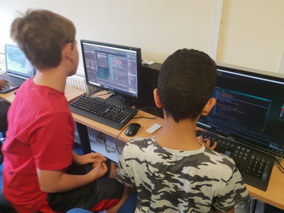 Kids Summer Holiday Computing Camp Week 2