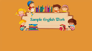 Sample-english-work